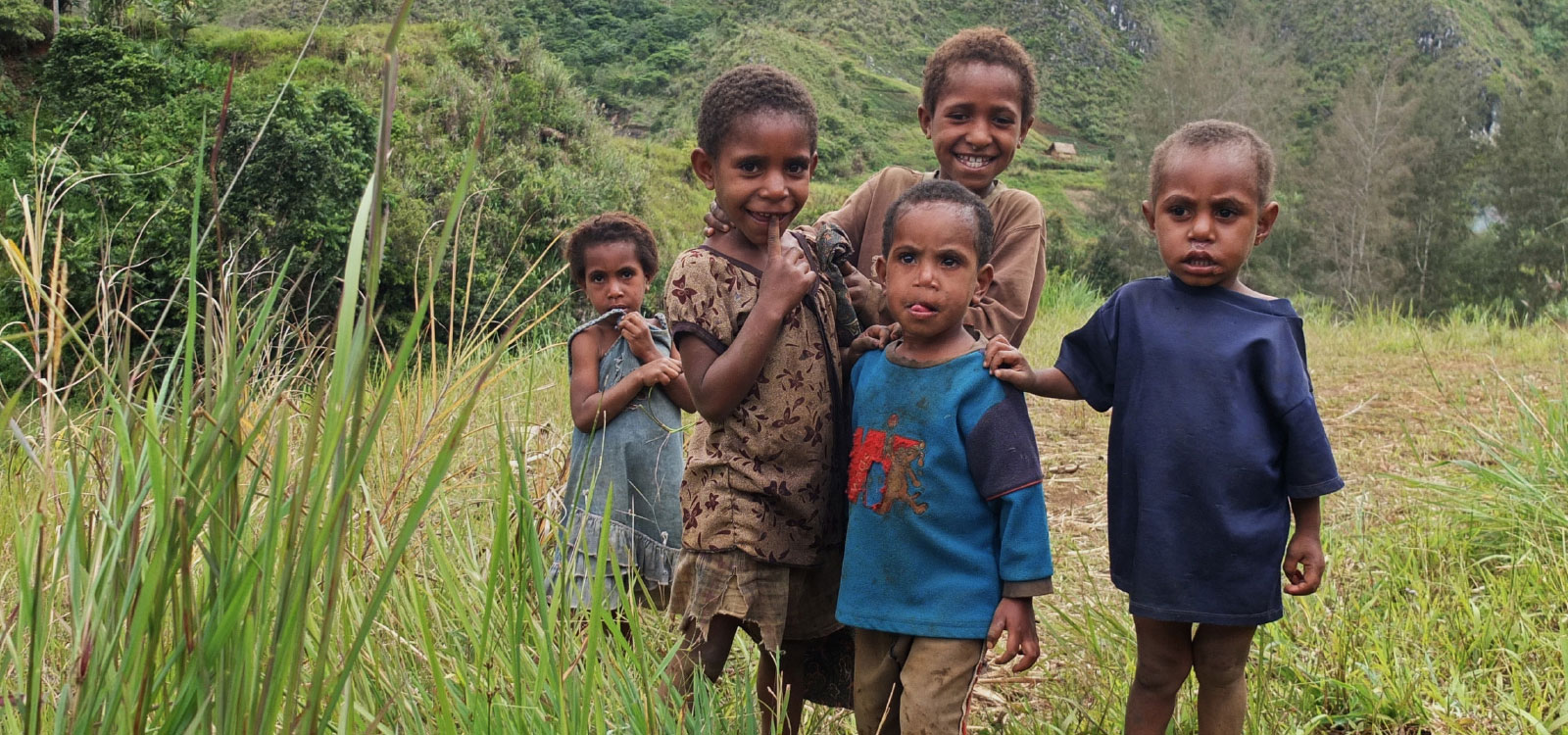 Kinder in Papua Neuguinea